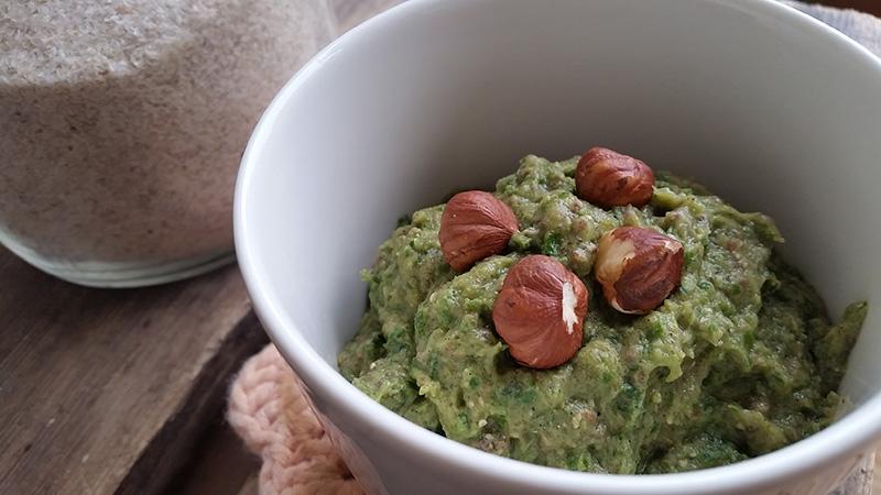 Grønn grøt avokado