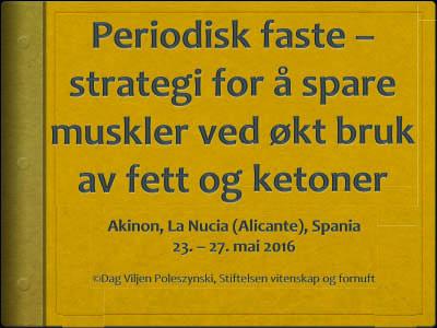 Periodisk faste /