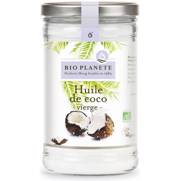 Bio Planete: Kokosolje (950 ml) / Perfekt for tilberedning av eksotiske retter.