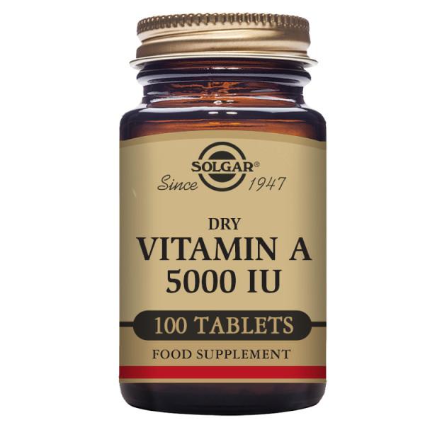 Solgar: Vitamin A (100 kapsler) / Nødvendig for normal funksjon av kroppens immunsystem Bidrar til sunn og frisk hud Nødvendig for godt syn I tørr form – ideell for veganere og vegetarianere Kosher-sertifisert