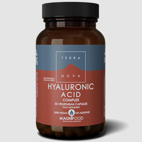 Terranova: Hyaluronsyrekompleks (50 kapsler) /