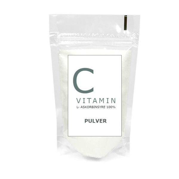 Vitamin C (500 g og 1 kg) / C-vitamin støtter funksjonen til nervesystemet og immunforsvaret, og bidrar til å redusere følelsen av tretthet.
