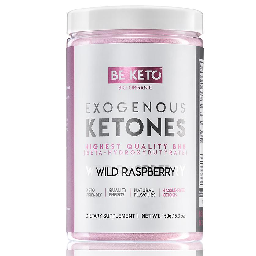 Be Keto: Eksogene ketoner (150 g) / BeKeto ™ eksogene ketoner er en kraftig blanding av høykvalitets beta-hydroksysmørsyre(BHB)-salter bundet til mineraler som kalsium, magnesium og natrium. Tilskudd av BHB-salter gjør at kroppen din når ketose raskere. Fordelene er økt hjernefunksjon, høyere energinivå og vekttap.
