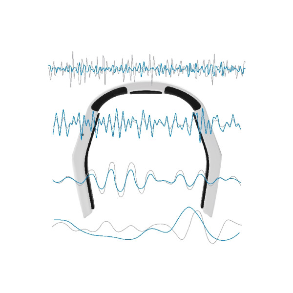 NeoRhythm – for bedre hjernefunksjon / Det er på tide å ta kontroll over tankene og få et bedre liv – denne lille bøylen kan bedre din livskvalitet! NeoRhythm er vitenskapelig utformet for å fremme og forbedre en bestemt sinnstilstand. Den er behagelig, brukervennlig og passer til ulike livsstiler. Hjernen har en utrolig evne til å justere hjernebølgene slik at de stemmer overens med ytre stimuli. NeoRhythm bruker denne naturlige prosessen for å stimulere hjernen til å jobbe med bestemte frekvenser som samsvarer med vår foretrukne sinnstilstand. NeoRhythm er en ikke-invasiv teknologi, som er uten ledninger, og styres enten via lette trykk eller via en app fra telefonen din.