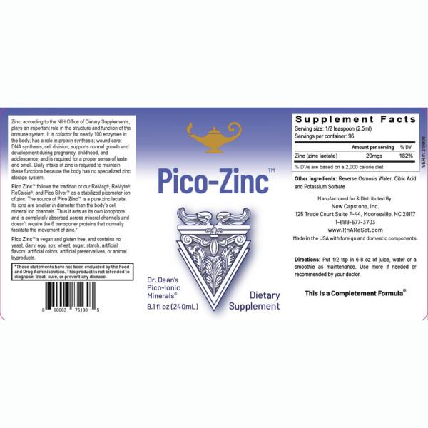 Dr. Dean: Pikomineral-sølvløsning (240 ml) / Pico-Silver Solution er et kosttilskudd som ut fra behov brukes for å støtte immunsystemets struktur og funksjon.