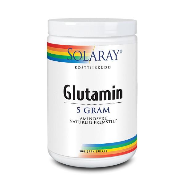 Solaray: Glutamin-pulver (300 g) /