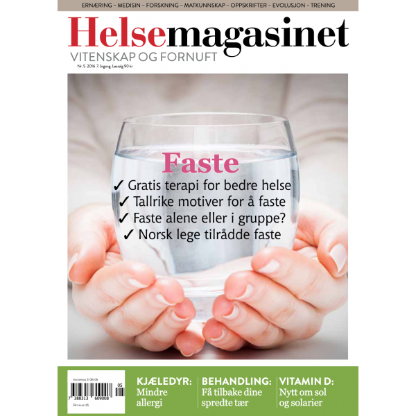 Helsemagasinet nr. 5 2016, faste