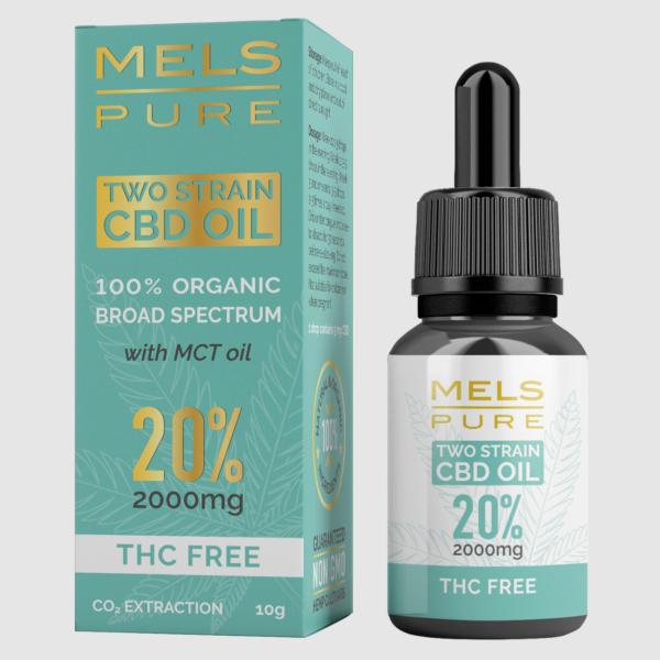 MELS: Pure CBD, two strain 10-20% (10 g) / Bredspektret CBD-olje med økologisk MCT – helt uten THC. Framstilt avøkologisk dyrket hamp i Europa, CO2-utvunnet. Hver dråpe med 10% inneholder 5 mg CBD Hver dråpe med 20% inneholder 10 mg CBD – for bedre apsorbasjon og maksimal helsegevinst. Hver flaske inneholder ca. 200 dråper. OBS: Dette produktet kan kun betales med kort! Faktura, delbetaling eller Vipps fungerer ikke.