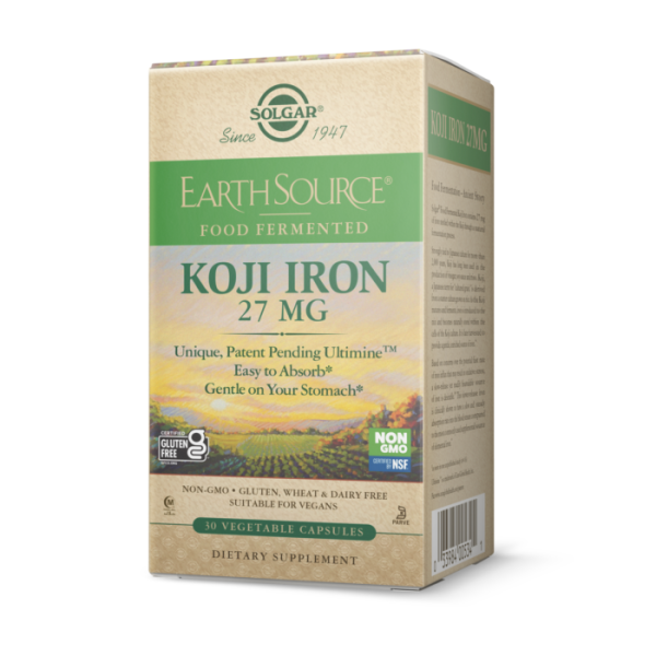 Solgar: Jern 27 mg (30 kapsler) / Lett å absorbere Snill mot magen Supports red blood cell production and helps deliver oxygen to cells* Supports energy utilization*