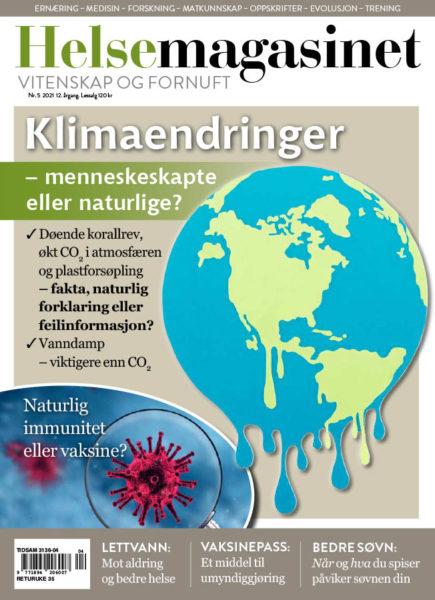 Nr. 5 2021 / Nr. 5 fra 2021 hvor temaet var klimadebatten.
