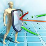Gruppelogoen til Immun- og infeksjonsforsvar